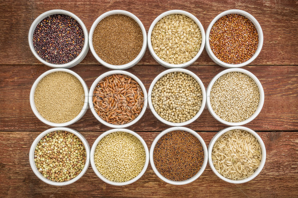 healthy, gluten free grains collection  Stock photo © PixelsAway