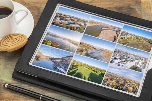 Colorado tablet kale kuzey resim Stok fotoğraf © PixelsAway