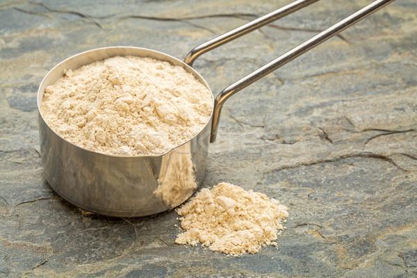 scoop of maca root powder Stock photo © PixelsAway