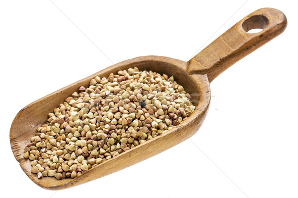 scoop of buckwheat grain Stock photo © PixelsAway