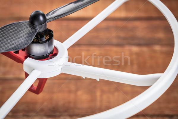 пропеллер аннотация подробность электрических Motor Сток-фото © PixelsAway