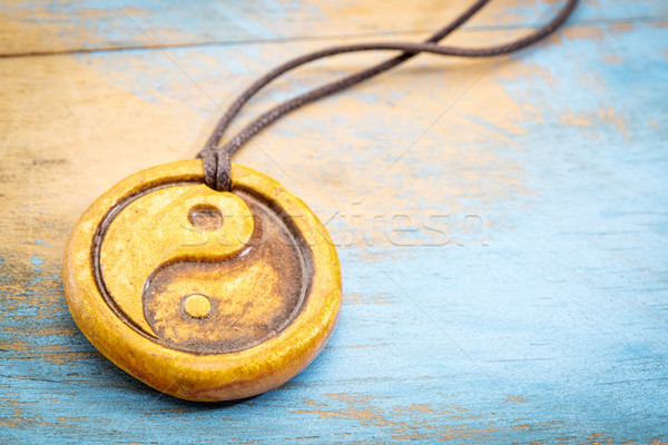 aromatherapy yin and yang pendant Stock photo © PixelsAway