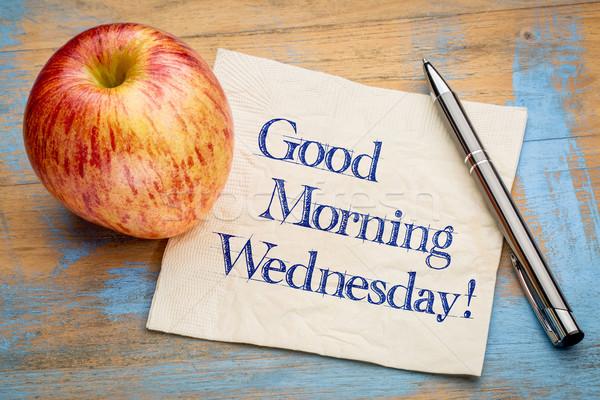 Good Morning Wednesday Stock photo © PixelsAway