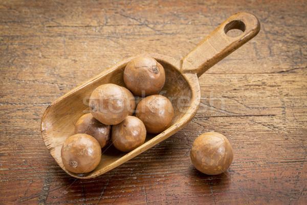 scoop of macadamia nuts  Stock photo © PixelsAway