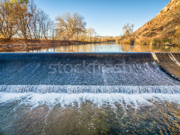 diversion dam on Poudre River Stock photo © PixelsAway