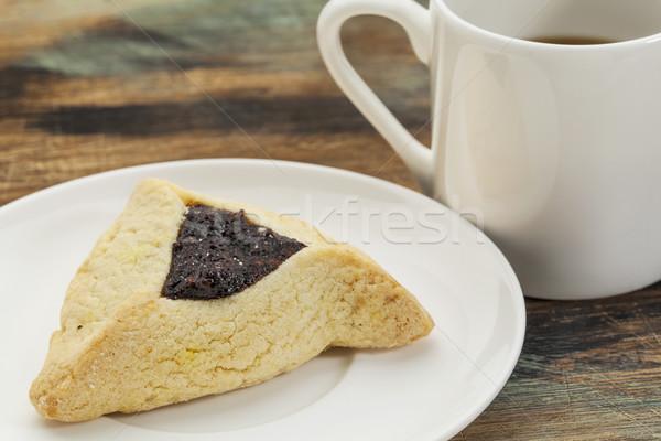 hamantaschen cookie Stock photo © PixelsAway