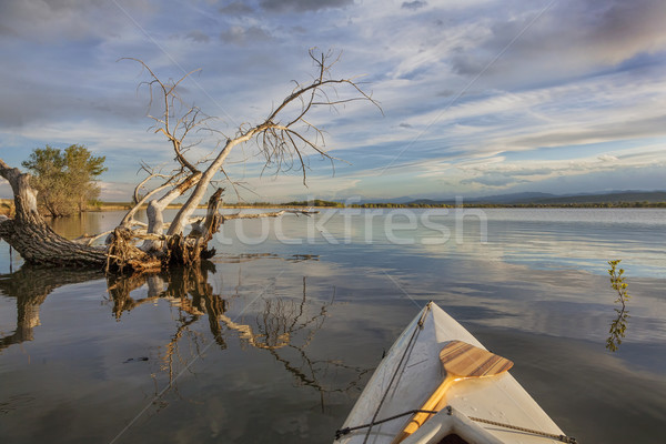 wide angle view from canoe  Stock photo © PixelsAway