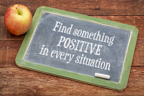 Find something positive in every situation Stock photo © PixelsAway