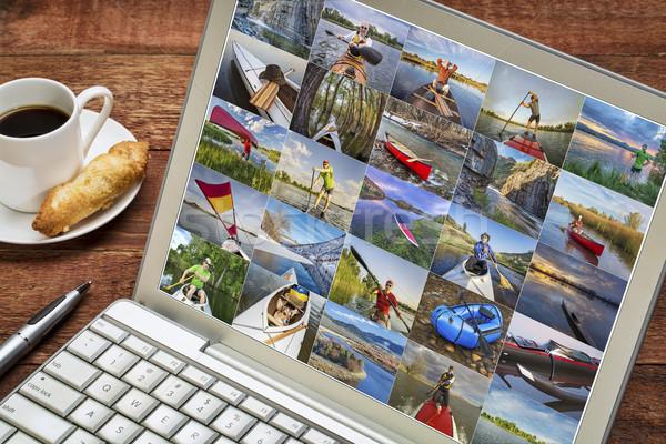 Galerij foto's Colorado variëteit boten kajak Stockfoto © PixelsAway