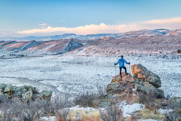 hiking foothills in northern Colorado Stock photo © PixelsAway