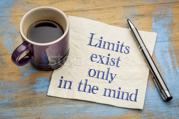Limits exist only in the mind  Stock photo © PixelsAway