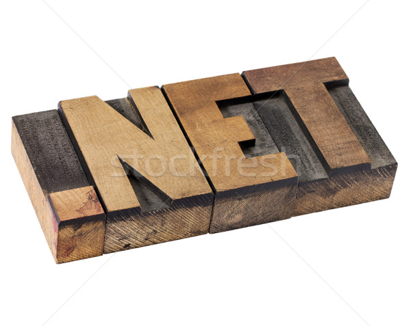dot net - internet domain Stock photo © PixelsAway