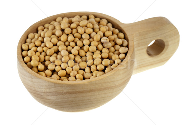 scoop of yellow soy beans Stock photo © PixelsAway