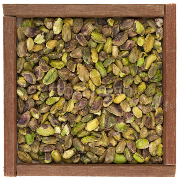 raw shelled pistachio nuts Stock photo © PixelsAway