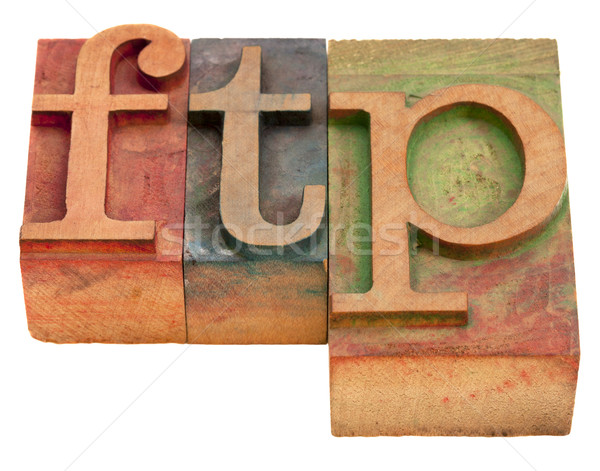 ftp - file transfer protocol Stock photo © PixelsAway