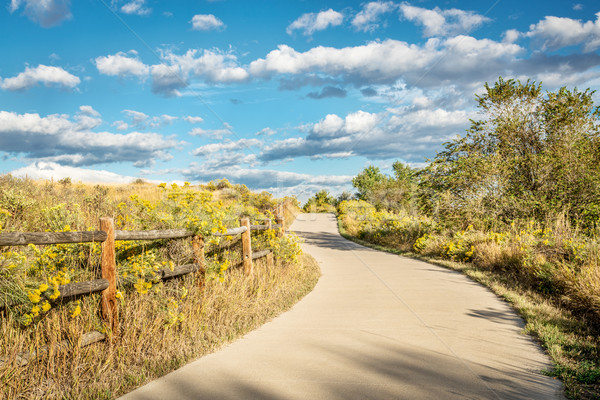 late summer on Poudre River Trail Stock photo © PixelsAway