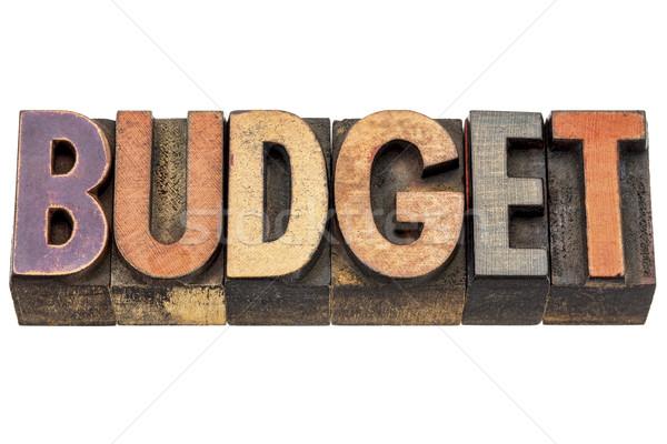 予算 言葉 木材 タイプ 孤立した 文字 ストックフォト © PixelsAway