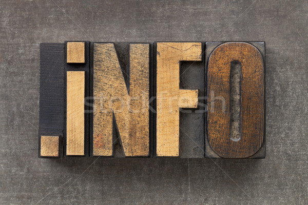 internet domain for information resources  Stock photo © PixelsAway