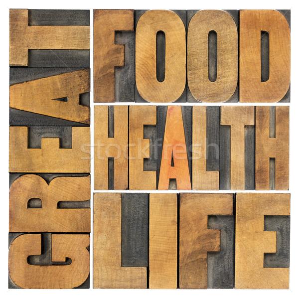 продовольствие здоровья жизни жизни Сток-фото © PixelsAway