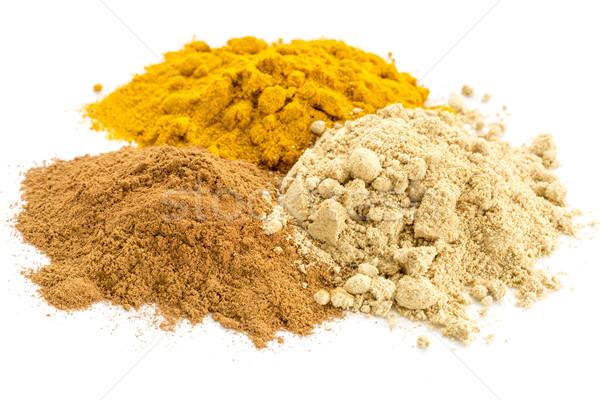 turmeric, ginger and cinnamon Stock photo © PixelsAway