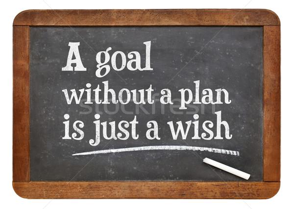 Foto d'archivio: Obiettivo · piano · consiglio · promemoria · bianco