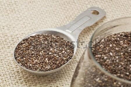 chia seeds close-up Stock photo © PixelsAway