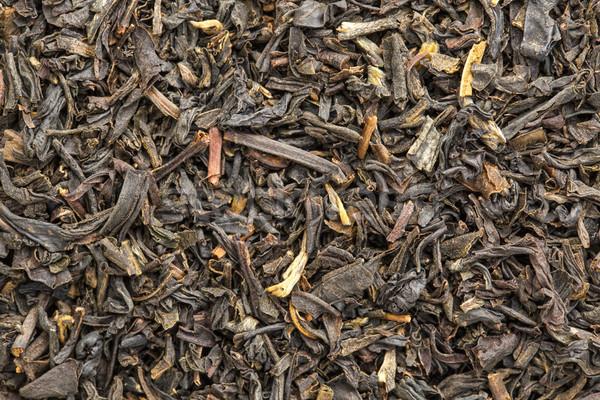 Textuur chinese oolong zwarte thee macro Stockfoto © PixelsAway