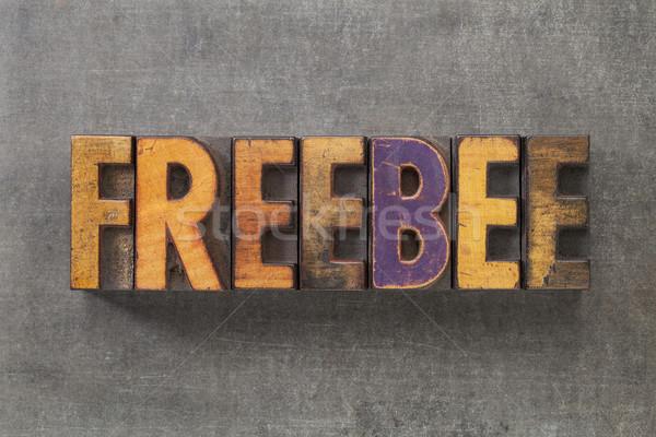 freebee word Stock photo © PixelsAway