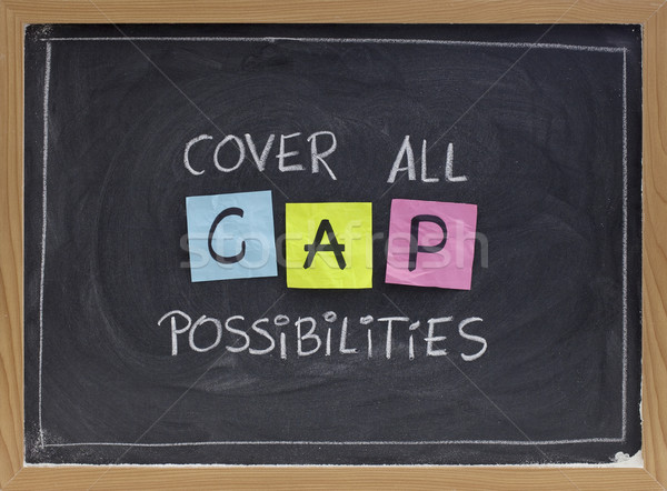 cover all possibilities Stock photo © PixelsAway