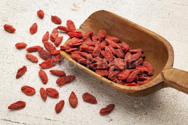 Tibetan goji berry scoop Stock photo © PixelsAway