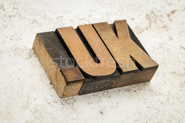 internet domain for United Kingdom Stock photo © PixelsAway