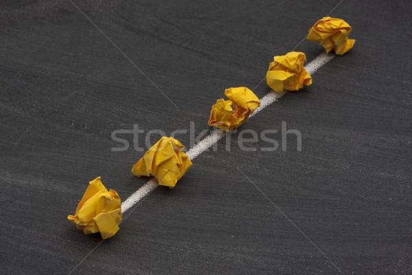 Netwerk lijn lineair bus model ruggegraat Stockfoto © PixelsAway