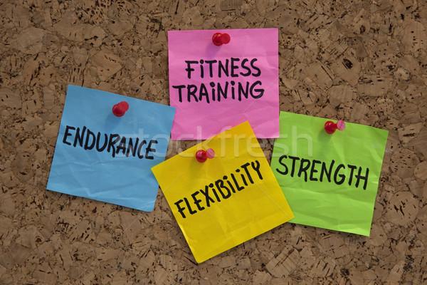 fitness training goals or elements Stock photo © PixelsAway