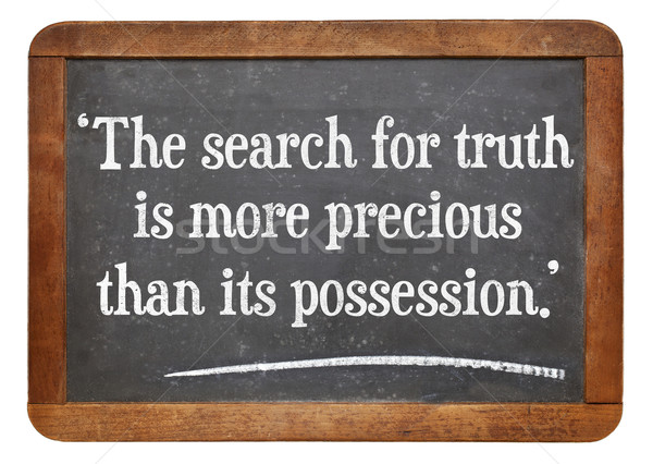 search for truth quote Stock photo © PixelsAway