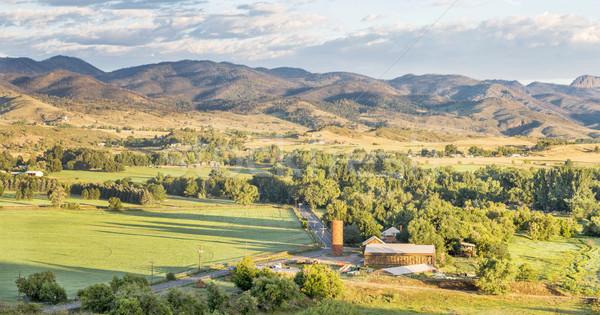 Colorado foothills panorama  Stock photo © PixelsAway