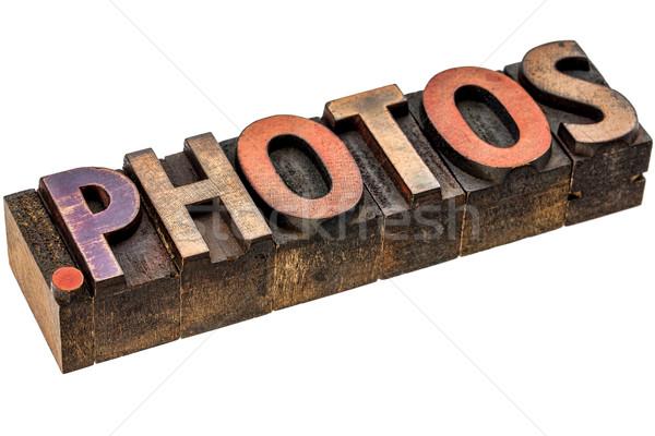 dot photos - photography website  Stock photo © PixelsAway
