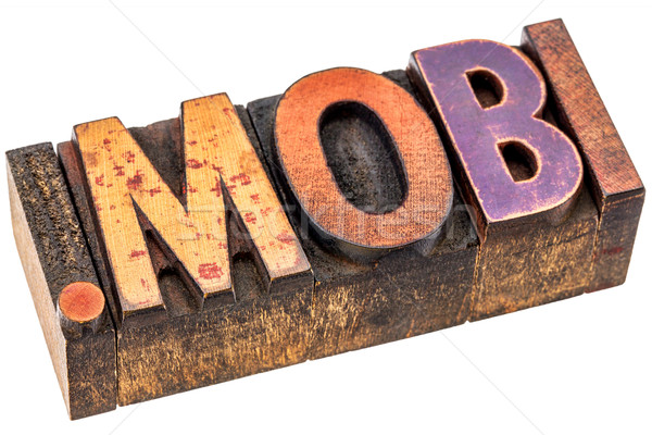 dot mobi internet domain Stock photo © PixelsAway