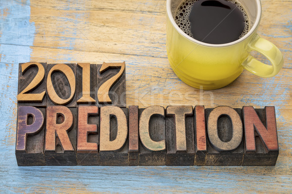 2017 prediction concept Stock photo © PixelsAway