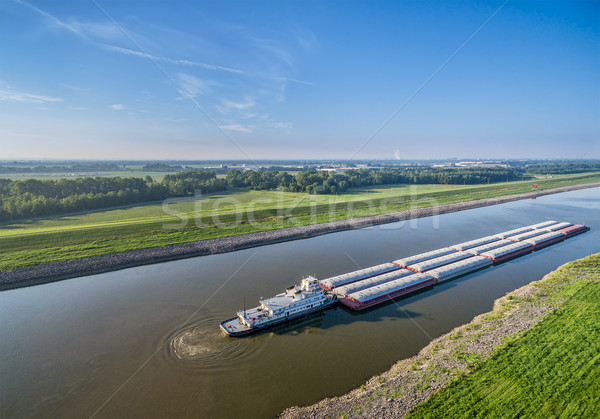 Chain of Rocks Canal Stock photo © PixelsAway