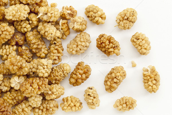 sun-dried white mulberry berries Stock photo © PixelsAway