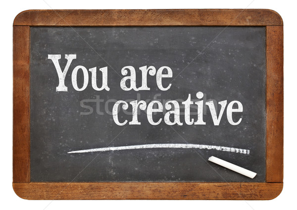 You are creative Stock photo © PixelsAway