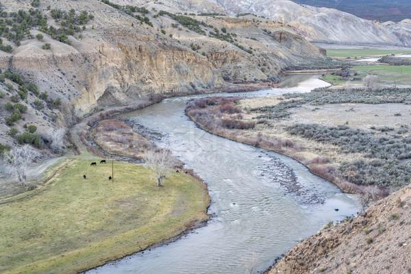 valley of upper Colorado RIver Stock photo © PixelsAway