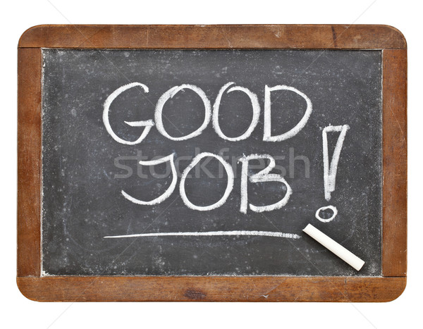 Good job compliment Stock photo © PixelsAway