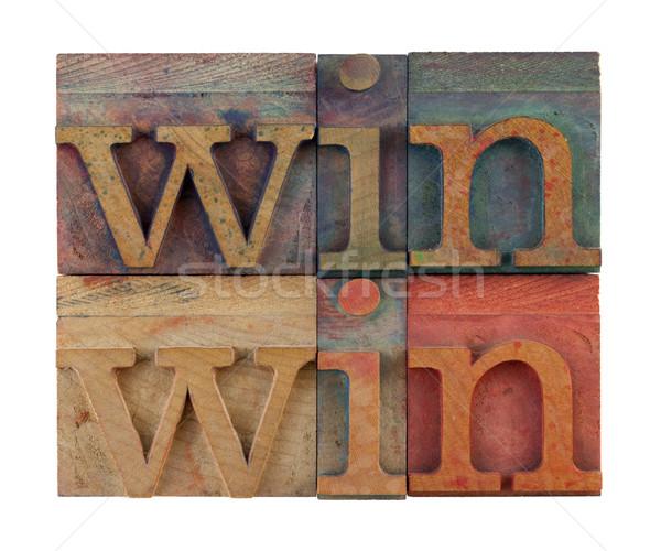 win-win strategy  Stock photo © PixelsAway