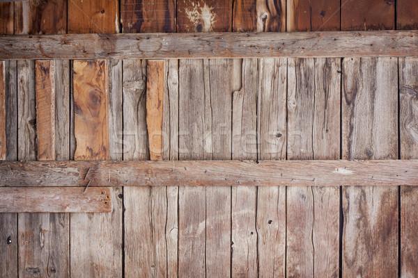古い 納屋 木材 壁 垂直 ストックフォト © PixelsAway