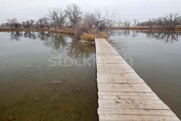 Göl bataklık doğa iz eski Stok fotoğraf © PixelsAway