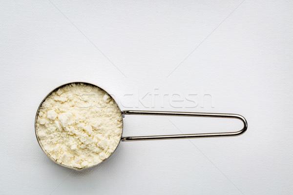 スクープ タンパク質 金属 素朴な ストックフォト © PixelsAway