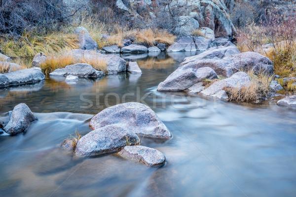 Berg Stream nördlich Colorado nördlich Gabel Stock foto © PixelsAway