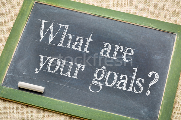 What are your goals? Stock photo © PixelsAway