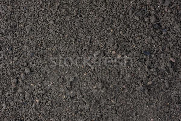 Kert nedves felső föld megművelt agyag Stock fotó © PixelsAway